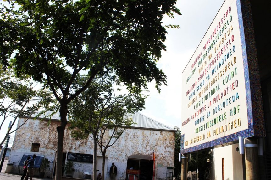 Constitutional Court, built after Apartheid as a sign of hope