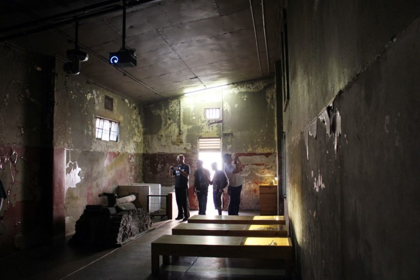 An indoor cell at Old Fort Prison Complex