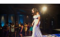 BLACK WEDDING STYLE: Bride Walks Runway to Alter
