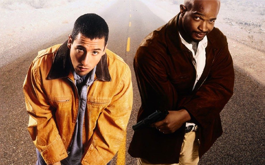 In <em>Bulletproof </em>(1996), Damon Wayans plays Jack Carter, an undercover cop who survives an accidental gunshot to the head by his best friend Archie Moses, played by Adam Sandler.