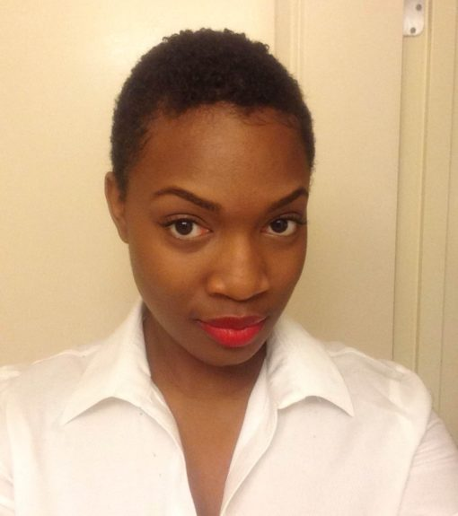They say the third time is a charm, but Cierra doesn't need one. She is working this second big chop! She won!