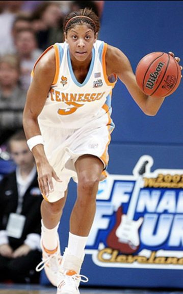 Candace Parker; Tennessee, 2008