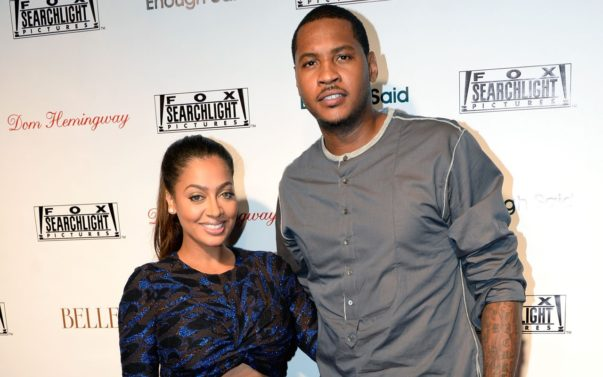 Details Emerge Regarding Carmelo, Lala Anthony's Alleged Split