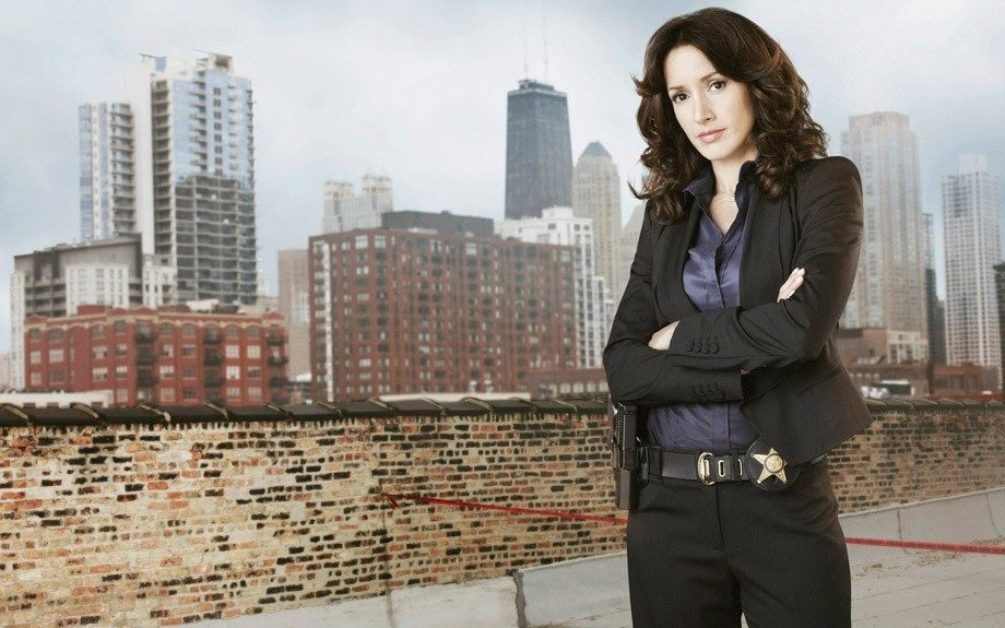 In the short-lived series Chicago Code (2011,) the wonderful Jennifer Beals plays the role of Teresa Colvin, Chicago's first female police superintendent.