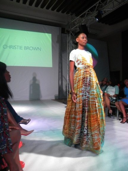 A look from Accra-based label Christie Brown