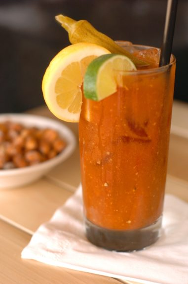 A NOLA Bloody Mary goes with anything Cajun--make that <em>everything</em> Cajun