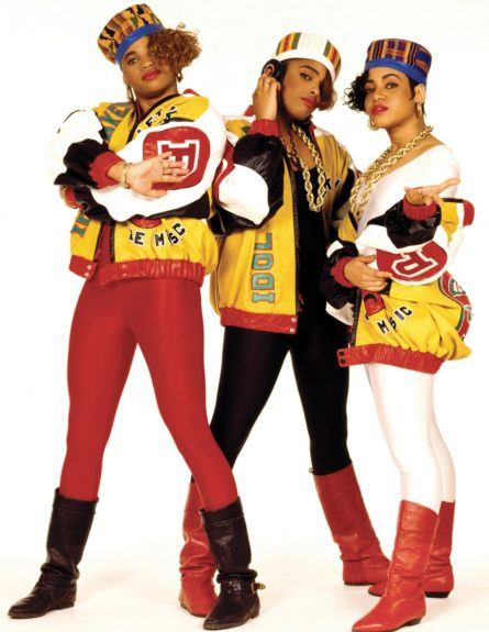 Queens from Queens: Salt-n-Pepa kept hip-hop spicy while throwin' down on the mics.
