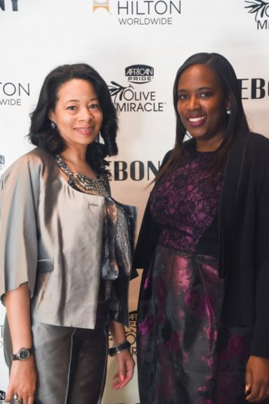 <p> 	Lorraine Miller, Burrell Communications & Andrea Richardson, Hilton Worldwide</p>