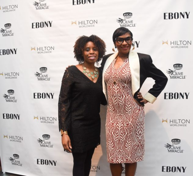 <p> 	Ruth Barnett, Uniworld Group, Kierna Mayo, EBONY</p>