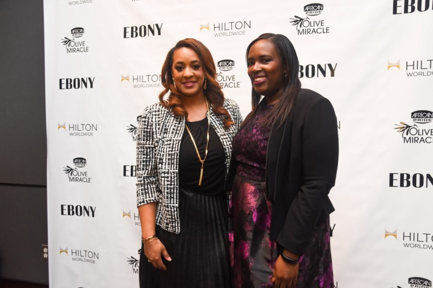 <p> 	Charlene Dance, Strength of Nature & Andrea Richardson, Hilton Worldwide</p>