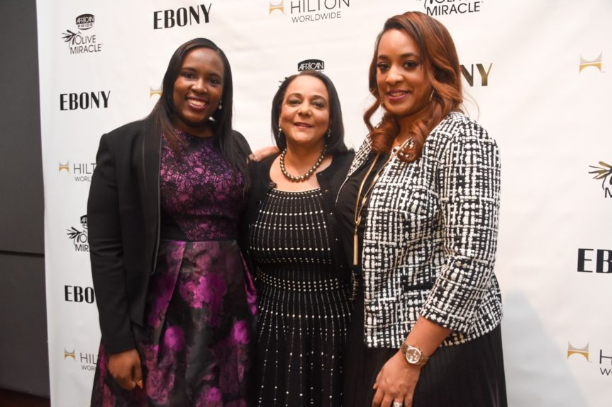 <p> 	Andrea Richardson, Hilton Worldwide, Cheryl Mayberry McKissack, EBONY, Charlene Dance, Strength of Nature</p>