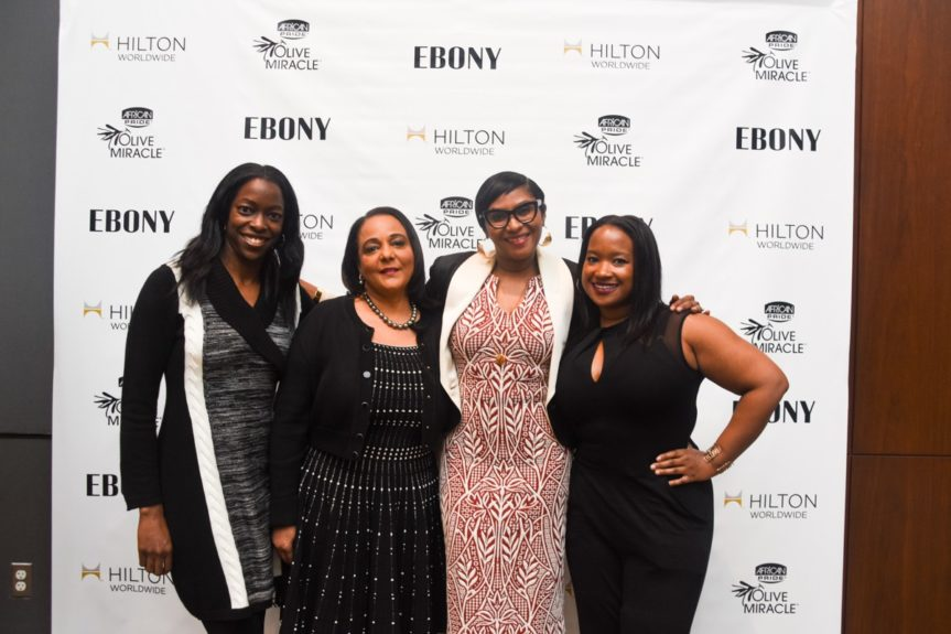 <p> 	Natara Holloway, NFL, Cheryl Mayberry McKissack, EBONY, Kierna Mayo, EBONY, Shante Bacon, 135th St Agency </p>