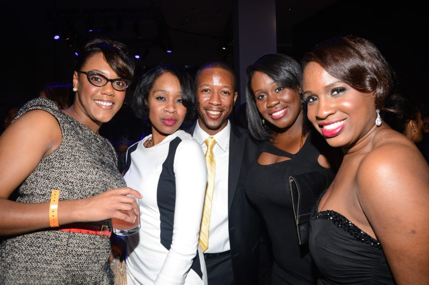 Guests party hardy at the EBONY Power 100 afterparty.