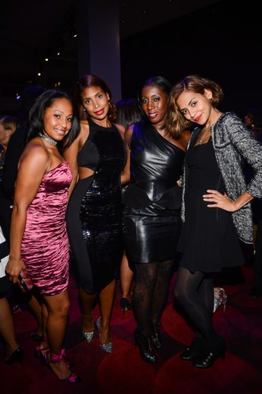 Guests party hardy at the EBONY Power 100afterparty.
