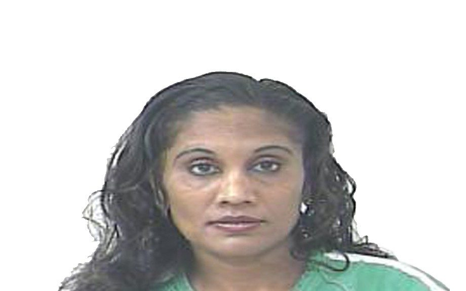 Dawn Elaine Barran from Florida was arrested after attacking her husband with a bag of ice cream after catching him with another woman.