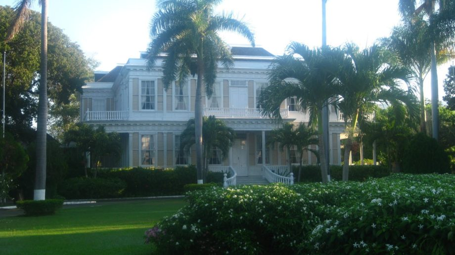 Devon House, one of the historic landmarks along the route.