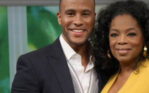 THIS DAY IN FASHION: DeVon Franklin Hits Oprah