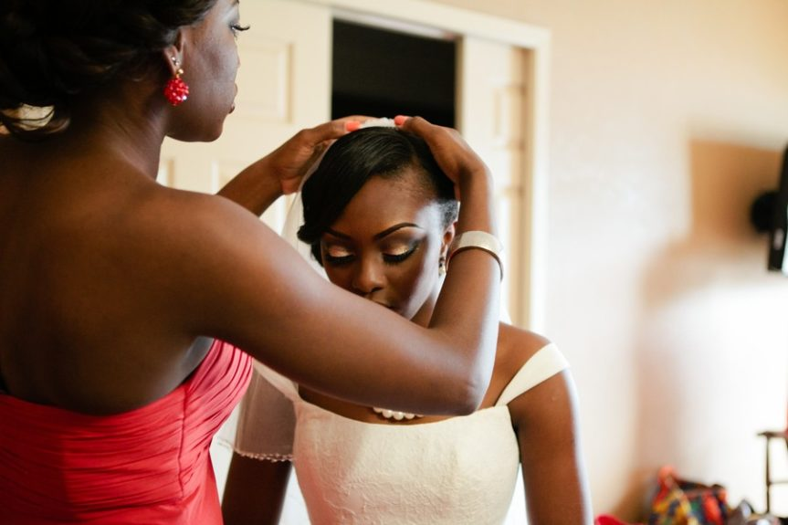 The lovely bride,DianeGyimah