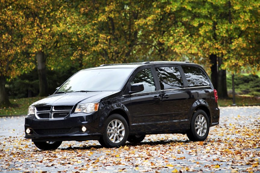 Dodge Grand Carvan SXT: runs around $1,129 annually.