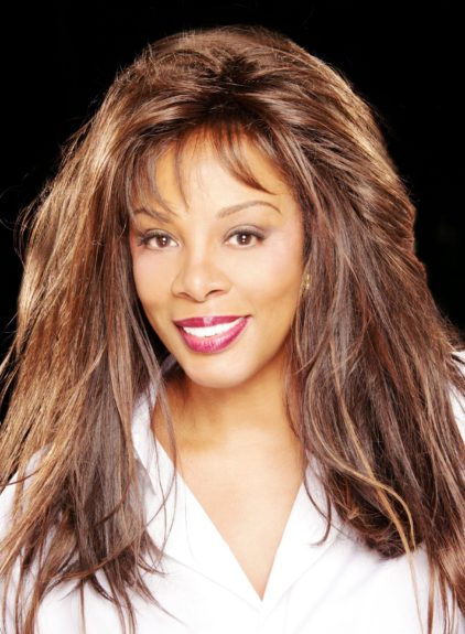 Full and fun hair is what we will always remember Donna Summer by.