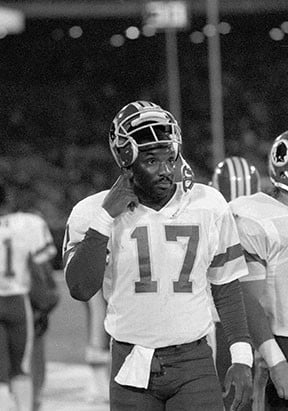 <p> 	<strong>1988</strong></p> <p> 	Doug Williams threw four touchdowns in one quarter for the Redskins and became the first Black QB to win a Super Bowl.</p>