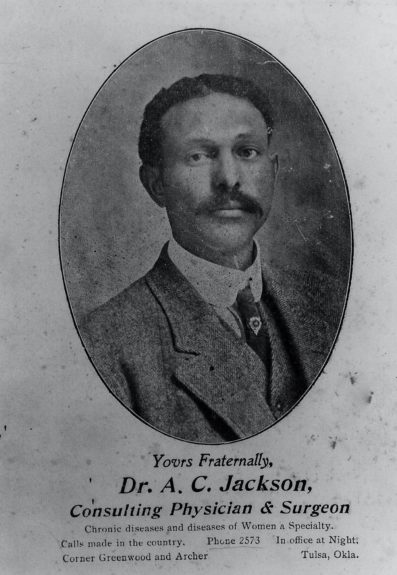 Dr. Andrew Jackson was recognized as the finest and most competent Black surgeon in the country. A graduate of MeHarry Medical School, he was the son of a former slave. Jackson was murdered by the White mob in front of his home for his success.