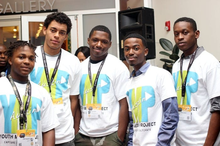 Caleb, Jalen, Monty, Shadow and Anthony learned coding from the Youth Media Project. We love it!