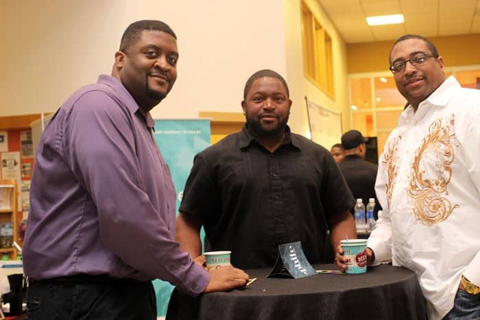 Kyron Hayes, Geralmy Carter and Gene Wills.