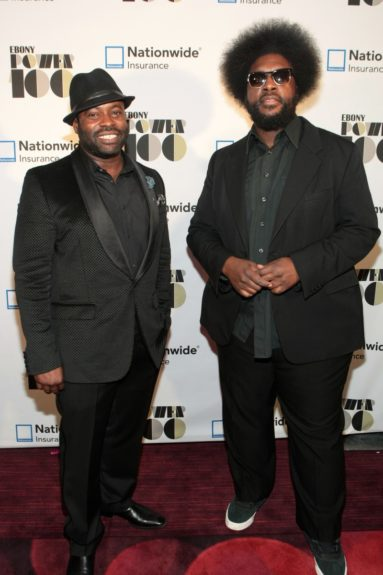 Recording Artist/Actor Tariq Trotter of the ROOTS and Recording Artist/Music Journalist Questlove of the ROOTS