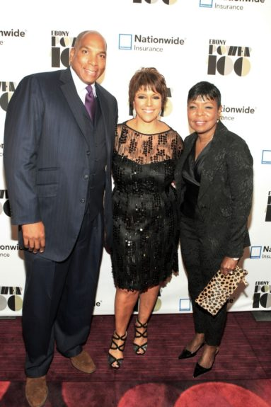 "(L-R) Earl ""Butch"" Graves, Jr, President & CEO, Black Enterprise Magazine, Linda Johnson Rice, Chair, Johnson Publishing Company and Gale King, EVP, Nationwide"