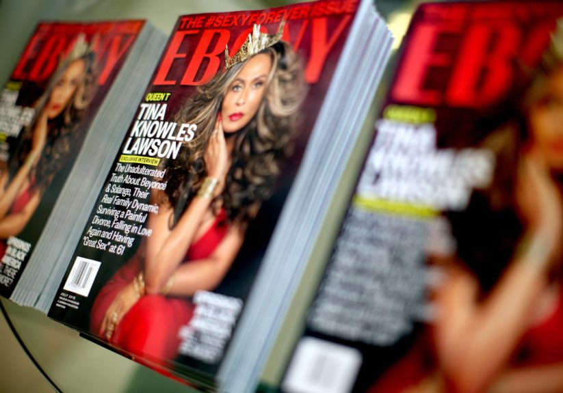 Tina Knowles slays on the July cover of EBONY'S #sexyforever issue.