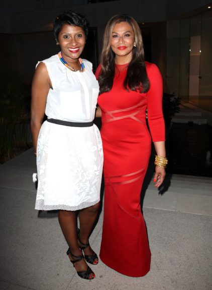 EBONY Editor-in-ChiefKiernaMayo glams it up with Tina Knowles on a successful (and sexy) cover.