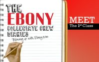 Introducing The EBONY Collegiate Crew Diaries