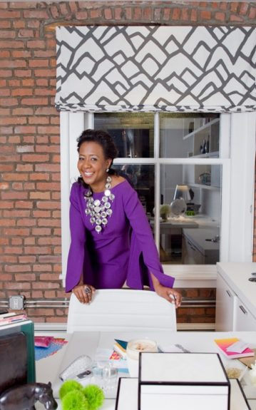 Kalyn Johnson-Chandler strikes a pose in her stylish home