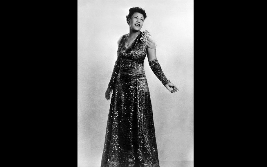 Friday, May 4, 2012: You see those sequins? Ella Fitzgerald was fierce!