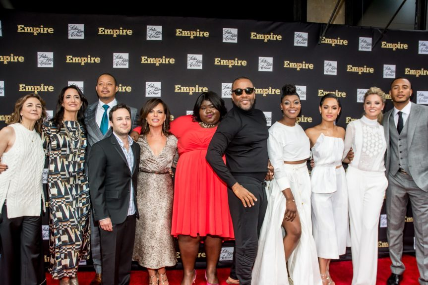 """<p class=""""p1""""> The Cast and Crew of """"Empire"""""""