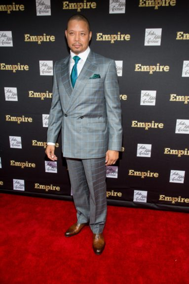 """<p class=""""p1""""> Terrence Howard (Lucious Lyon) looking dapper on the red carpet."""