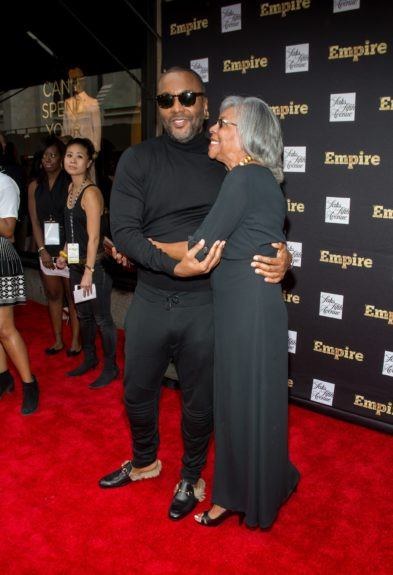 """<p class=""""p1""""> """"Empire"""" Creator Lee Daniels and mother share a sweet moment on the red carpet. <i>PS Diana Ross is on his cameo wish list.</i>"""