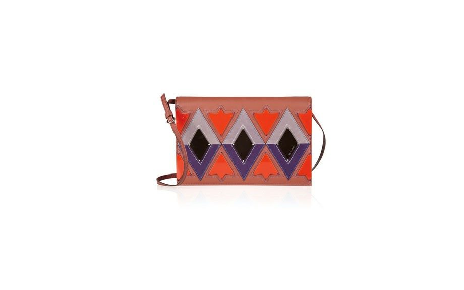 Etro Patterned Leather & Resin Clutch, $1,240 at net-a-porter.com