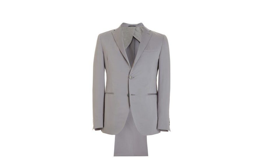 Fendi Solid Two-Button Suit, $1,680 at barneys.com