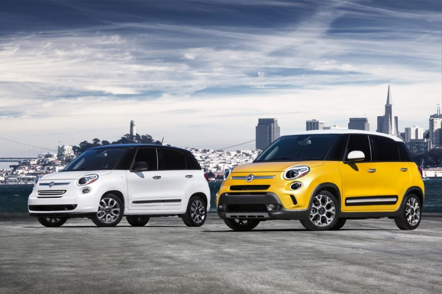 Fiat 500 grows by two doors