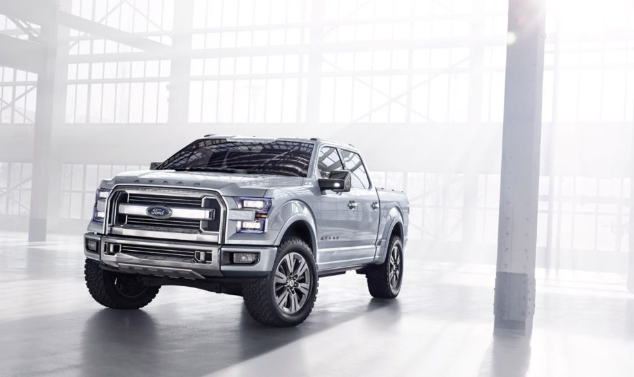 Ford Atlas Concept gives us glance of next year's F-Series