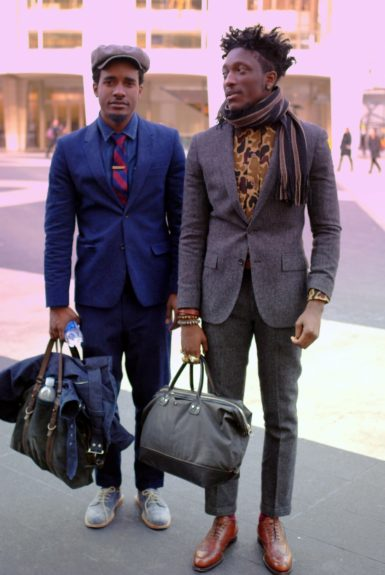 Travis Gumbs and Joshua Kissi, Founders of streetetiquette.com