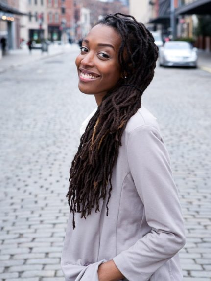 <strong>Franchesca Ramsey</strong>  	Natural hair vlogger and funny girl Franchesca Ramsey of the popular YouTube channel Chescalocs is in a lane of her own. With 43,144 subscribers, Franchesca offers amazing style tutorials with a twist of humor.