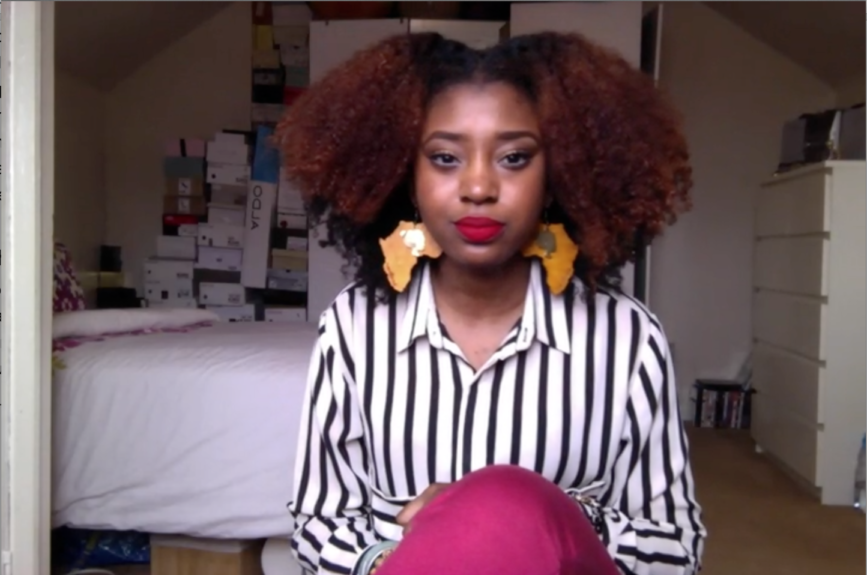 <strong>FusionofCultures</strong>  	Laila-Jean has a sweet and personable personality that almost makes you feel as though you are doing your hair with your best friend. The UK native did the big chop two years ago and hasn't looked back.
