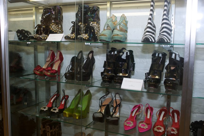 A sampling of the shoes..<em>.</em>the <em>shoes!</em>