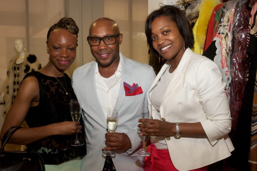 Iya Bakare (Gloss Magazine), Ira Staples (Stylist), Michelle Geddes (Director of Marketing, Chicago Park District)