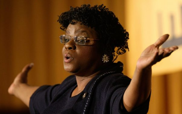 Rep. Gwen Moore Tells Anti-Choice GOP Where to Shove Black Genocide Lie