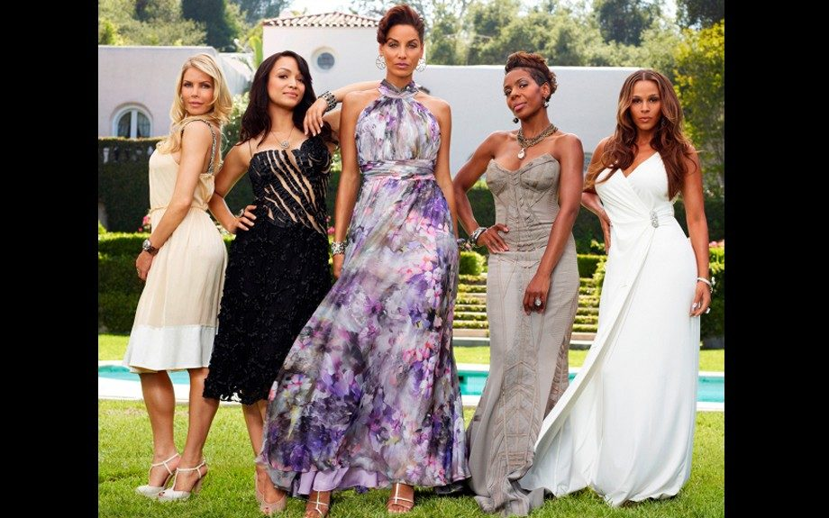 """Basketball wives move over there is a new group in town, """"Hollywood Exes,"""" just shot their pictures for the new VH1 reality show's promotion."""