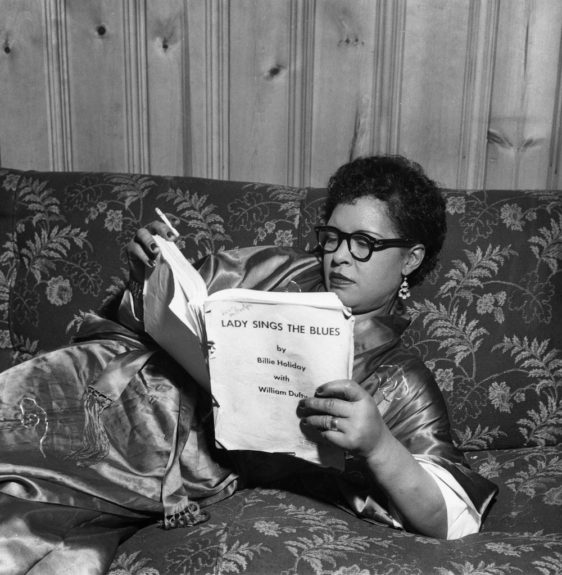From the EBONY Collection, Billie Holliday reviews autobiography manuscript 'Lady Sings the Blues.' View the entire EBONY Collection by selecting STORE in the upper right corner of the homepage.